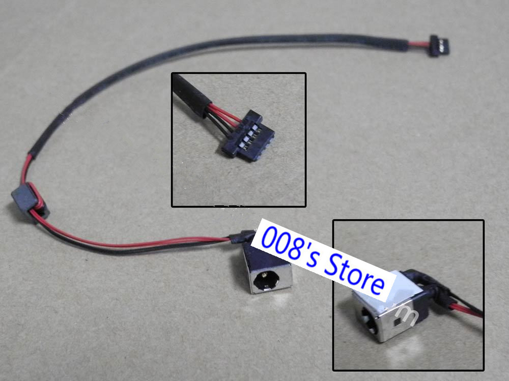 Acer Aspire One D250 KAV60 P Bell Dot S DC Jack Power Cable Lead DC301007400