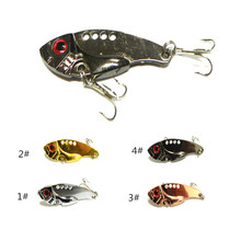 5pcs/pack 5.5cm Bionic Metal Bait Lure Fishing Shop Essential New 11g Swimming Beach Road and VIB Fibrillation Fishing Lures