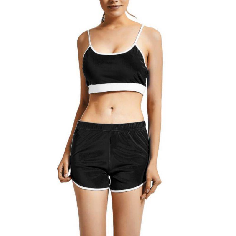 Sport Suit Tracksuit Bra+Short Sportswear 6