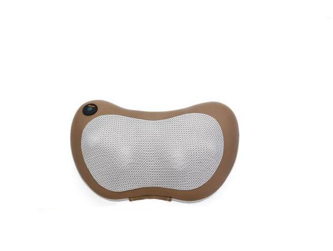 Multifunctional massage pillow neck massager household kneading massage body massage instrument for communication<br>