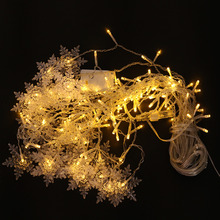 Christmas Decoration LED Snow Ice Lights Curtain Lights 8 Kinds Of Flashing Mode Atmosphere Lamp