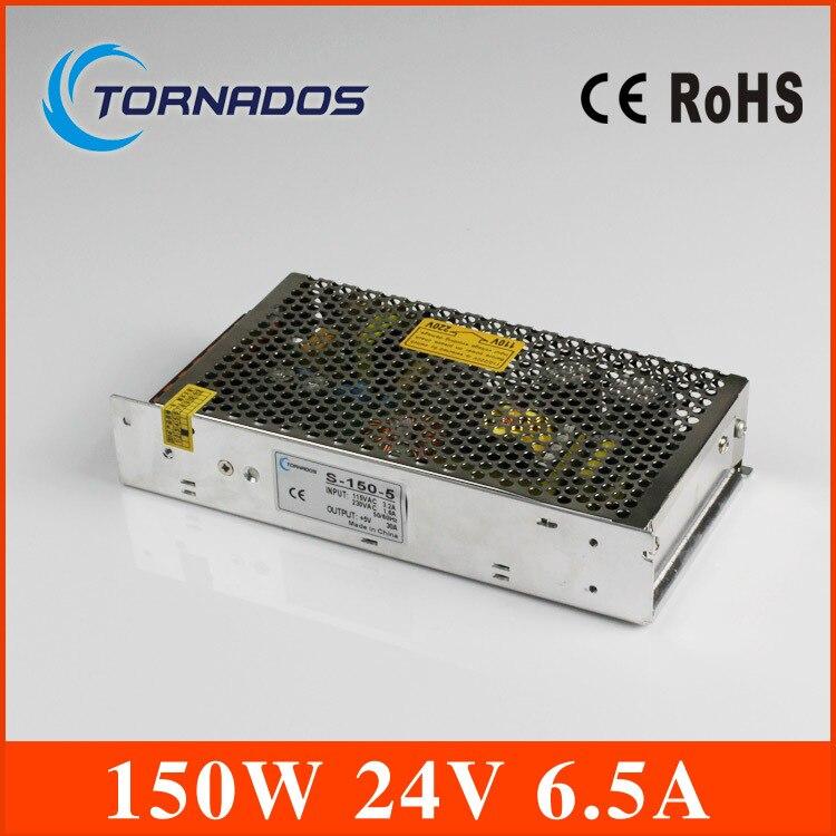 power supply 24v 150w AC110/220V DC 24V 6.5A 150W led power supply unit ac dc converter s-150-24<br>