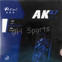 Palio AK 47 AK47 AK-47 BLUE Matt Pips in Rubber With Sponge PingPong Rubber for Table Tennis Racket 2.2mm H38-40