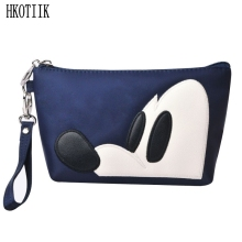 Lovely Cartoon Nylon Fashion Cosmetic Bag Travel Organizer Professional Storage Brush Necessity Cosmetics Beauty Skin Care Pack(China)
