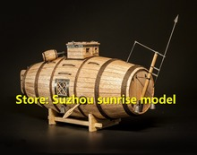 LOVE MODEL Wooden model kit Russian original submarine The Vyacheslav Nikonov 1718 wooden submarines model kit English manuals(China)