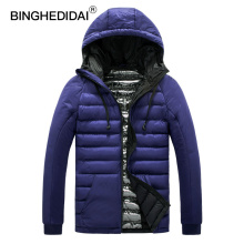 BINGHEDIDAI winter men jacket Slim down jacket men's jacket thermal comfort  men's   Coat Men's Down Jacket Male Windproof Parka