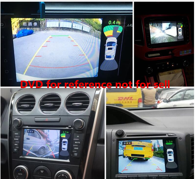 dual video parking sensor