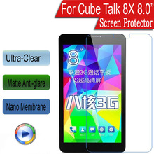"For Cube Talk 8X 8.0"" Super Thin Ultra anti-glare Soft Nano Explosion-proof Soft Protective Film(Not Tempered Glass)(China)"