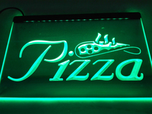 LB127- Pizza Slice Display NR LED Neon Light Sign home decor crafts(China)