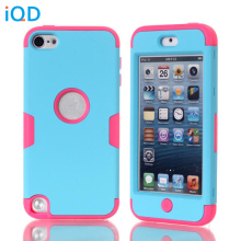 IQD For Apple ipod touch 5 6 Fitted Case protector Hard Soft Hybrid Armor Defender silicone gel Cases for iPod Touch 6 Cover(China)