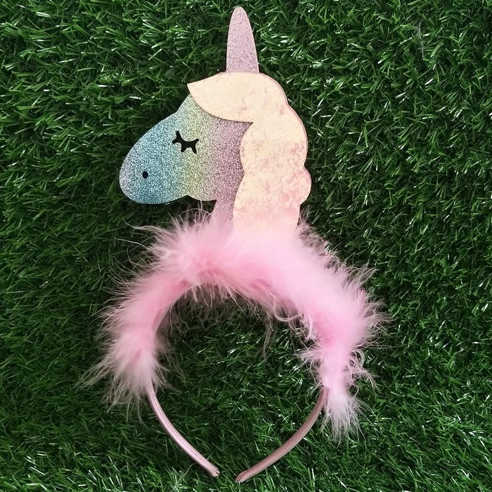 Detail Feedback Questions about Fluffy Magical Unicorn Horn Headwear ... 975b4081ff30