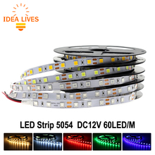 New arrived Brighter LED Strip 5054 DC12V Flexible LED Light 60 LED/m 5m/lot, 5054 is the Upgrade of 5050.