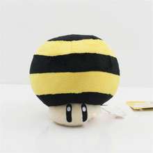 11cm Super Mario Series Plush Queen Bee Toad Mushroom Soft Stuffed Plush Toy Dolls(China)