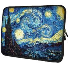Van Gogh Village Soft Netbook Laptop Sleeve Case Bag Pouch For Apple Macbook Air/Pro Retina 10 13 13.3 15.4 15.6 17.3 17.4 inch