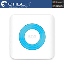 Chuangkesafe Etiger 85dB siren comes with a strobe light Wireless Siren for Etiger Alarm System S4/S3B as same as chuango G5