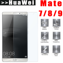 9H Premium Tempered Glass For Huawei Mate 7 8 9 mate7 mate9 screen protector mate8 protective film Glass 2.5D MT7 MT8 MT9