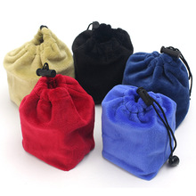 1 Pcs Soft Thick Velvet Bag for 3x3x3 Magic Cube Puzzle Speed Cube Protective Bag(China)
