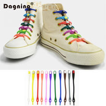 12Pc/set Fashion Unisex Women Men Athletic Running No Tie Shoelaces Elastic Silicone Shoe Lace All Sneakers Fit Strap Cordones(China)