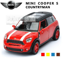 High Simulation Exquisite Model Toys ShengHui Car Styling MINI COOPER S Countryman Model 1:32 Alloy Car Model Excellent Gifts