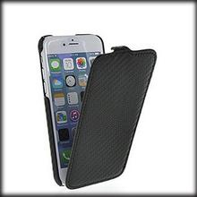 50% shipping fee 20pcs Carbon Fiber Flip Case For Apple iPhone 6 Classic Black color case for iPhone6 New arrival