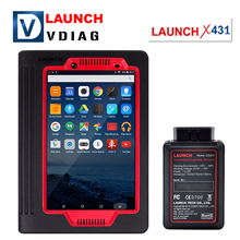 Original Launch X431 V Master 8INCH Multi-language X-431 Full Systems Automotive Diagnostic Tool X-431 V with Bluetooth Wifi(China)