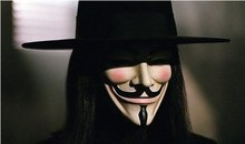 Free Shipping 5 Pieces V for Vendetta ! Guy Fawkes Mask Anonymous Vendetta Mask Halloween Cosplay