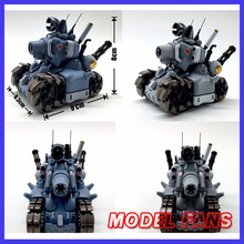 MODEL FANS in stock Video Computer Game Metal Slug 1:35 Tank Model Action Figure With Weapons Mini Cute Collection(China)