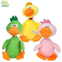 Pet Puppy Dog Toys Plush Duck Sound Squeaker Chewing Toys for Small Medium Dog Pets Playing Fun Toy