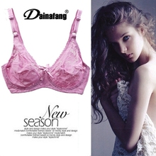 Europe New Style Fashion Design Sexy Lace Thin Bra Push Up Sexy Underwear Women Bralette Size 75,80,85,90,95,100 B,C,D 7 Color