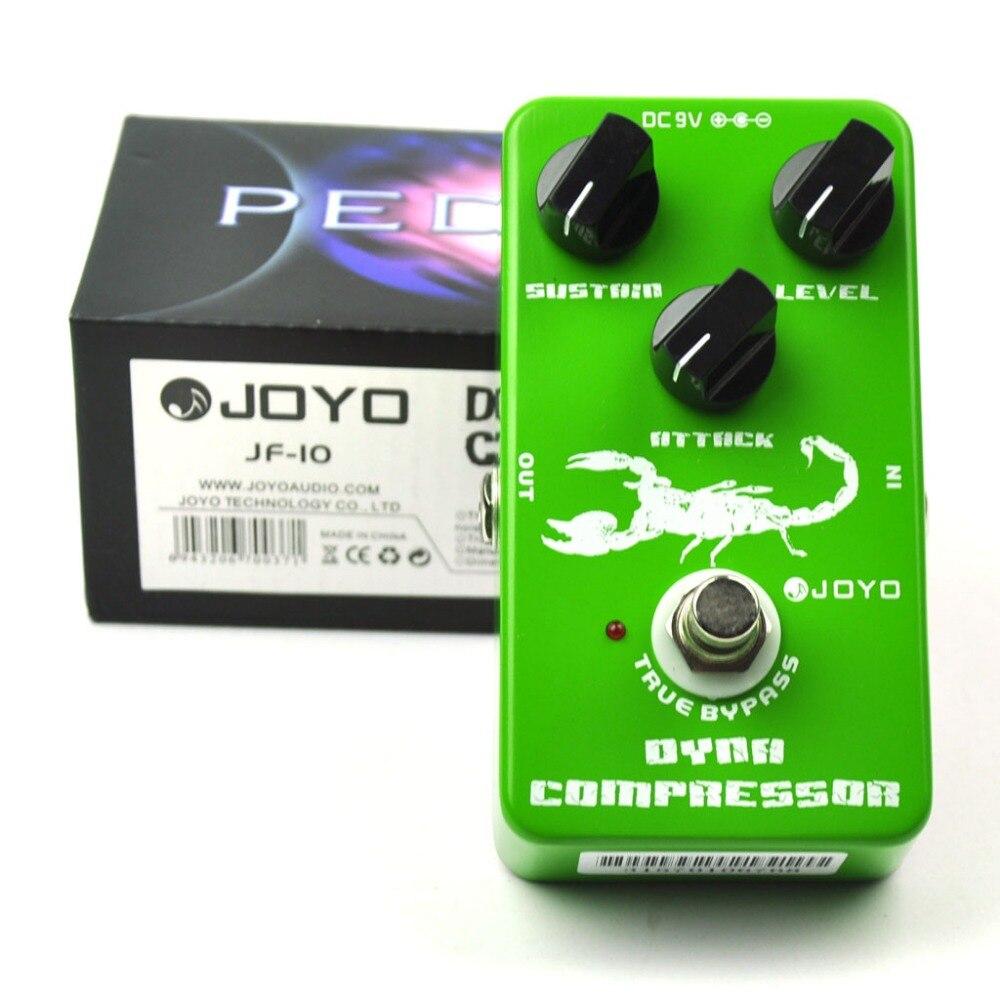 JOYO JF-10 Dynamic Compressor Guitar Effect Pedal<br>