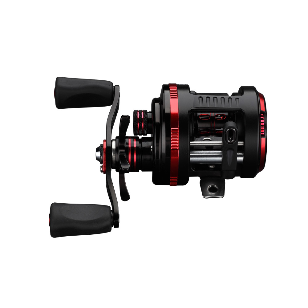 LumiParty DE Spinning Reel - Carbon Fiber Drag Brass Gears, Stainless Steel Components<br>
