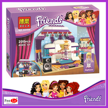 Bela friends girl friends Heart Lake City Stories series assembled toys fight inserted puzzle 10155 Stephanie
