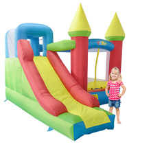Free Shipping Inflatable Jumping Castles For Kid Bounce House Inflatable Bouncer Slide Combo With Blower