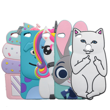 3D Cartoon Minions Stitch Case For Huawei P8 Lite 2017 Honor 8 Lite / Nova Lite Cat Cover Rabbit Dog Bottle Horse Phone Shell
