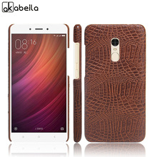 Mobile Phone Cases For Xiaomi Redmi Note 4 Covers Global Version Redmi Note4  Case Plastic Bags Skin Crocodile Grain Housing