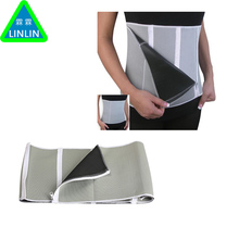 LINLIN New Adjustable Sauna Belt Slimming Belt Burner Belly Fitness Body Wrap Cellulite Shaper For Men Women With 5 Zippers Wrap