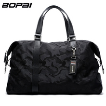 BOPAI Brand Luggage Bag Large Capacity Men Travel Bags Weekend Travel Duffle Bag Tote Crossbody Travel Shoulder Bags 2 Size(China)