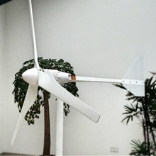 2000W Wind Turbine Generator 48V 3m/s Low Wind Speed Start 3 blade 1550mm