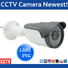 HD Video Surveillance Camera Waterproof Bullet CCTV Camera 1000tvl Sony CCD Outdoor Home Security Camera(China)