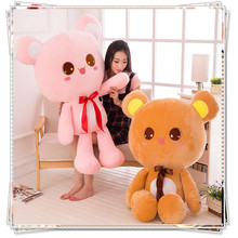 Teddy bear big toys for children cute stuffed animals with big eyes kawaii plush spongebob valentine's day present(China)