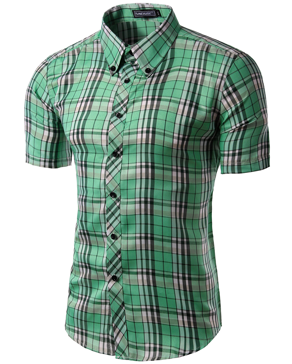 Short sleeve button up fashion 8