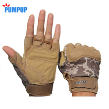 2016 Brand New Fingerless Gloves Men Outdoor Sports Half Finger Army Military Tactical Gloves Gym Training Weight Lifting Soft