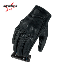 Motorcycle Gloves Moto GP Glove Leather Touch Screen For Men Motocross Goatskin Cycling Racing Guantes Moto Luvas da motocicleta