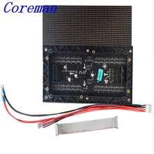 Coreman small pixel 64X32 RGB dot matrix led panel p3 p4 p5 p6 indoor led display module for video wall TV rental p3 p4 p5