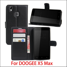 New Arrival For DOOGEE X5 max /x5max pro Case Luxury Flip Leather Stand Case Hight Quality PU Leather Cover For DOOGEE X5 Max