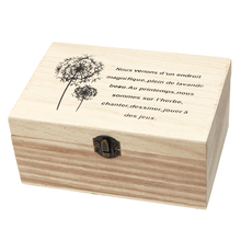 20*13.5*9.2cm Retro Storage Box Rectangle Solid Wood Jewelry Box with Lock Home Organizer Handmade Craft Jewelry Case