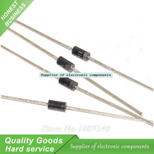 50pcs/lot 1N5817 Schottky 1A 20V Schottky barrier diode (Diode) New Original Free Shipping