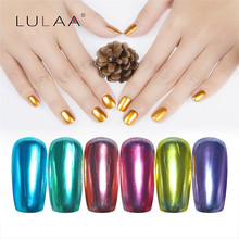 ColorWomen LULAA 6ML Nail Art Mirror Nail Polish Drop Shipping 170214