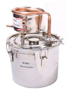 Distiller Brewing-Kit Essential-Oil Moonshine Water-Wine Stainless Alambic Copper Home