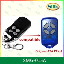 5x factory whole sales ATA compatible remote ,rolling code 433.92mhz ,100% compatible PXT-4(China)